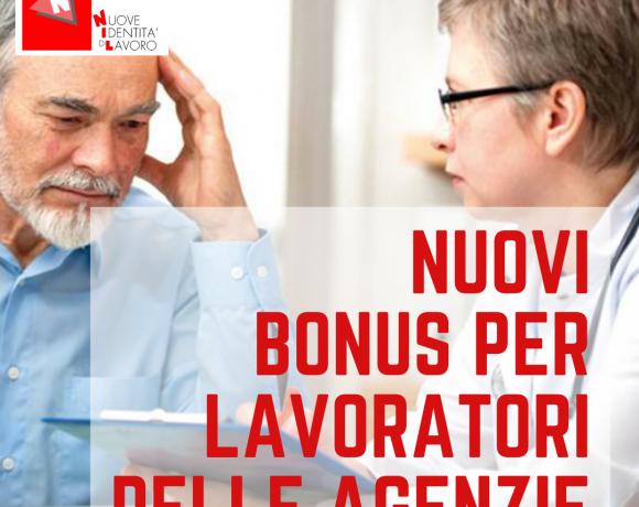 Bonus per lavoratori delle agenzie EBITEMP e FORMATEMP