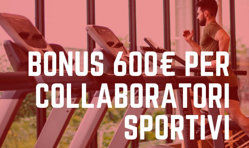 Come richiedere il contributo dei 600 € per i collaboratori sportivi