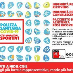 Collaboratori sportivi, assicurazione Covid gratuita